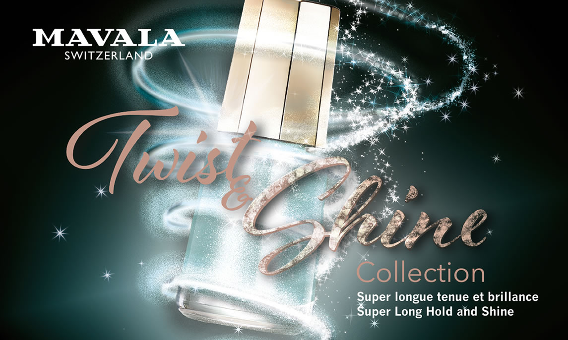 TWIST & SHINE, the classic beauty combined with a touch of sparkling and glittering enchantment!